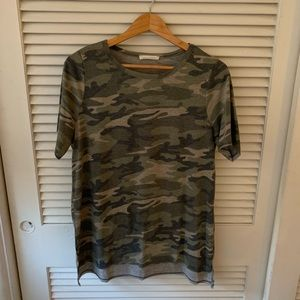 Honey Punch Camouflage Print Size Medium